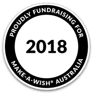 Make A Wish Badge Logo